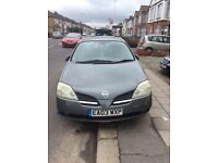 Nissan primera 1.8 with low mileage