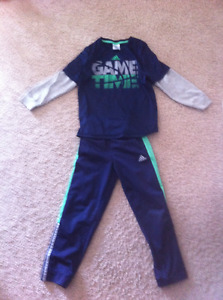 Boys adidas jogging suit