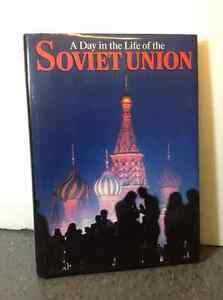 (1987) A Day in the Life of the Soviet Union by Rick Smolan Cambridge Kitchener Area image 1
