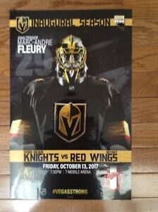 "Vegas Golden Knights 11"" by 17"" Collector Poster(s) Opening Week"