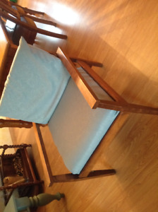 Solid Wood Chair With Cushions