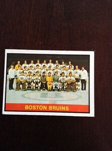 Boston Bruins Team Card
