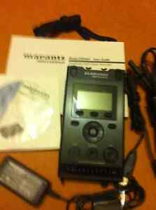 Marantz PMD661 Professional Digital Recorder and Portabrace case