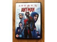 ANT MAN DVD LISTED IN DVDs