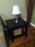 Espresso Coffee Table w/ 2 End Tables in Great Shape