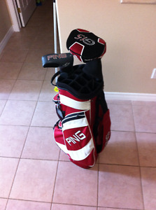 Ping Cart Bag... Driver @ Putter