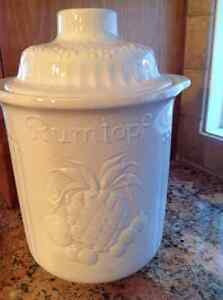 Large Ceramic Container Strathcona County Edmonton Area image 1