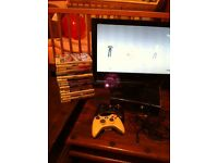 TV , Xbox slim console , kinect , 16 games 3pads