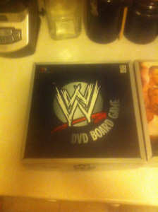 WWE DVD Board Game Vol 1 and 2