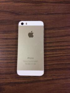 iPhone 5s gold à vendre *nego*