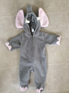Halloween Costume/elephant/size 0-3 months