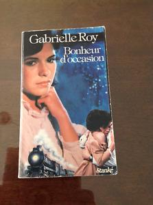 BONHEUR D'OCCASION DE GABRIELLE ROY