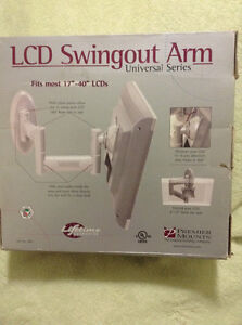 "LCD Swingout Arm - fits 17""-40"""