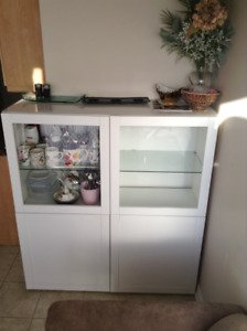IKEA BESTA LIVING OR KITCHEN HUTCH / SIDEBOARD / SHOWCASE