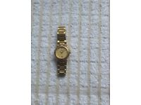 LADIES GUCCI 9200L GOLD PLATED WATCH