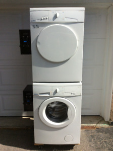 "Coin operated washer and dryer.Moffatt (condo size,24"")"