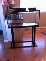 Fish tank / reptile tank with stand