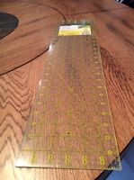 Quilt ruler 6x24 in