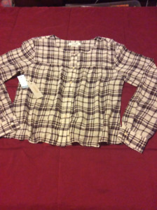 Aritzia Women's flannel top