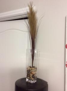 Vase décoratif en verre