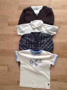Lot de vêtements (environ 95) pour garçon 0 à 6 ans