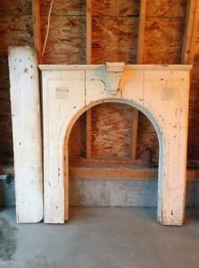 Antique Fire place Mantle