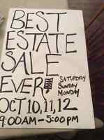 Best estate sale of the year! Everything must go!!