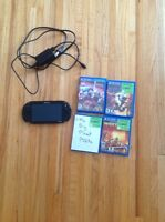 PS Vita with 8 Gig memory and 4 games