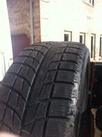 245-50-20 winter tires - great condition