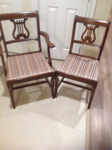 Antique Knechtel Chairs