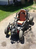 HONDA 200cc buggy ! 5 gears with hand shift ! Will do 110 km
