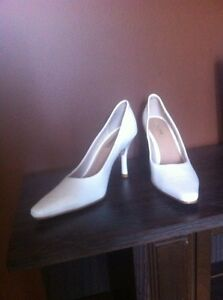 White shoes - authentic leather
