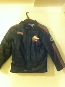 Boys leather jacket 6x