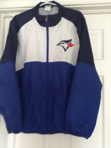 MENS MAJESTIC BLUE JAYS JACKET (PERFECT CONDITION)