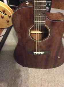 Complete Mahogany wood Acoustic Electric