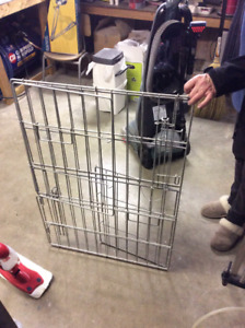 2 dog cages med and large