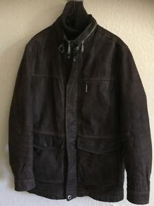 Beautiful Brown Leather Winter Coat