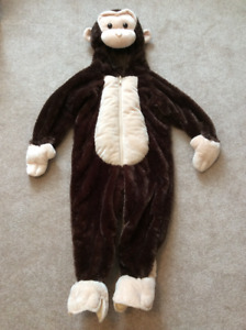 Monkey costume, size 3T
