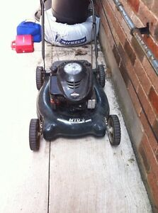 5.0 hp Briggs and Stratton lawn mower