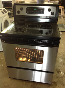 Stove convection self clean
