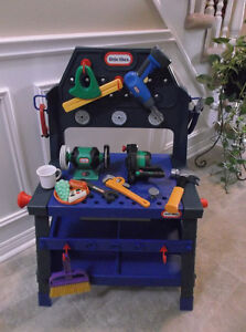 Little Tikes 2-in-1 Engine Block and Workbench