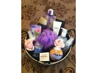 Beautiful pamper basket