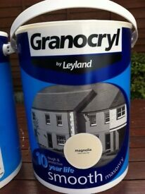 Leyland Granocryl Smooth Masonry paint