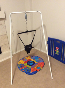 Jolly Jumper with Stand and Play Mat