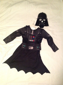 Darth Vader Muscle Chest Shirt Set Costume – Size: 4T