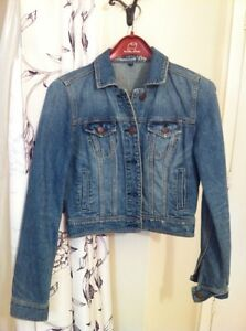 Denim Jacket, short, American Eagle Kingston Kingston Area image 1