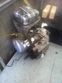 Honda cbf125 engine