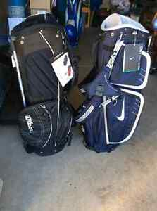 4 New Golf Bags