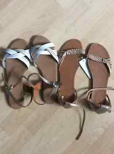 5 Brand new sandals! All for $37