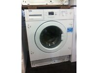 New Integrated wash machines BEKO 6.5 KG 7kg and 8kg offer sale from £180